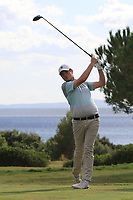 Cormack Sharvin (NIR) on the 12th tee during the Pro-Am of the Challenge Tour Grand Final 2019 at Club de Golf Alcanada, Port d'Alcúdia, Mallorca, Spain on Wednesday 6th November 2019.<br /> Picture:  Thos Caffrey / Golffile<br /> <br /> All photo usage must carry mandatory copyright credit (© Golffile | Thos Caffrey)