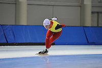 SCHAATSEN: SALT LAKE CITY: Utah Olympic Oval, 12-11-2013, Essent ISU World Cup, training, Jelena Peeters (BEL), ©foto Martin de Jong