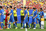 BECAMEX BINH DUONG (VIE) vs JIANGSU SUNING FC (CHN) during the 2016 AFC Champions League Group E Match Day 1 match on 23 February 2016 in Thu Dau Mot, Vietnam. Photo by Stringer / Lagardere Sports