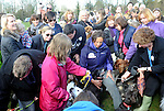 ..   Miranda Hart  The BT Red Nose Challenge: Miranda's Mad March The TV star's challenge, which was revealed live on Chris Evans' Radio 2 show this morning, is to host a first class dog show the auditions were at soth park Oxford