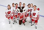 Wisconsin Badgers women's hockey sophmore class. (Photo by David Stluka)