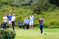 Eoin Leonard (Wentworth/Killiney) during the final of the AIG Irish Close Championship, The European Club, Wicklow, Ireland. 08/08/2018.<br /> Picture Fran Caffrey / Golffile.ie<br /> <br /> All photo usage must carry mandatory copyright credit (&copy; Golffile | Fran Caffrey)