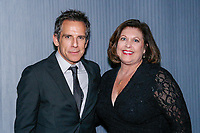 "NEW YORK - NOVEMBER 14:  Ben Stiller and Catherine Scott at a party following the premiere of Showtime's limited series ""Escape at Dannemora"" at Alice Tully Hall in Lincoln Center on November 14, 2018 in New York City. (Photo by Kena Betancur/Showtime/PictureGroup)"