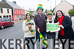 Glenbeigh is gearing up for its 25th annual St Patrick's day parade and to mark the occasion they have put together an extra special celebration. <br /> L-R Veronica Sugrue, Steven Baggett, Joan Connors and Mary B Teahan.