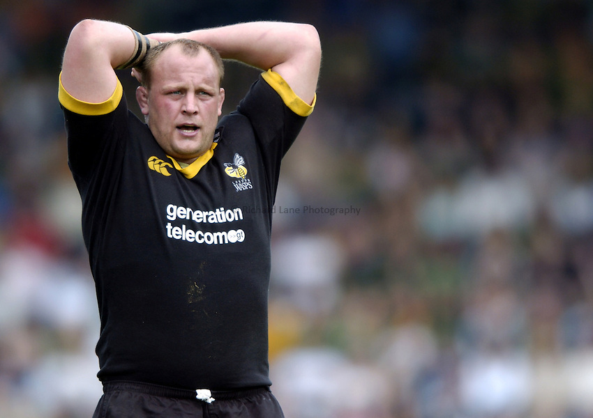 Photo: Richard Lane..London Wasps v Northampton Saints. Zurich Premiership. 16/05/2004..Will Green.