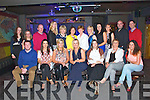 Pictured in Mermaid's Listowel on Saturday night celebrating Mary-Ann Daly's going away party, who was working in Kerry Group, Listowel for 13 years.  She is pictured back row fourth from left.