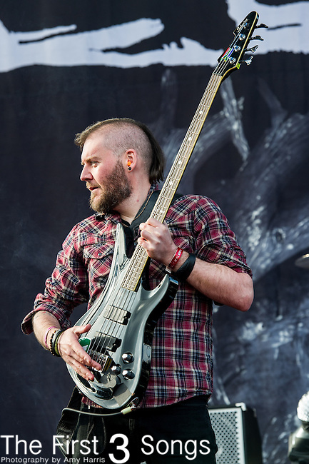 Dale Stewart of Seether performs during the 2014 Rock On The Range festival at Columbus Crew Stadium in Columbus, Ohio.