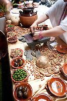 Exconvento de Culhuacan, Iztapalapa, Mexico. Aromas y Sabores with Chef Patricia Quintana
