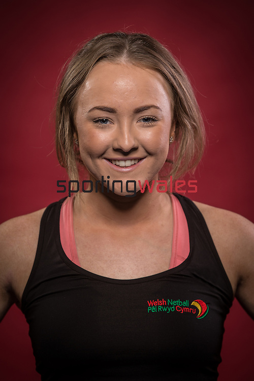 Welsh Netball - Junior Dragons squad 2016<br /> 27.11.15<br /> House of Sport<br /> ©Steve Pope - SPORTINGWALES