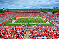 Eastern Michigan University football was defeated at Rutgers Unversity, Piscataway, NJ. Sept. 14, 2013