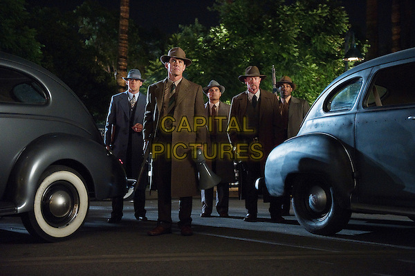 RYAN GOSLING, JOSH BROLIN, MICHAEL PENA, ROBERT PATRICK & ANTHONY MACKIE.in Gangster Squad (2013) .*Filmstill - Editorial Use Only*.CAP/FB.Supplied by Capital Pictures.