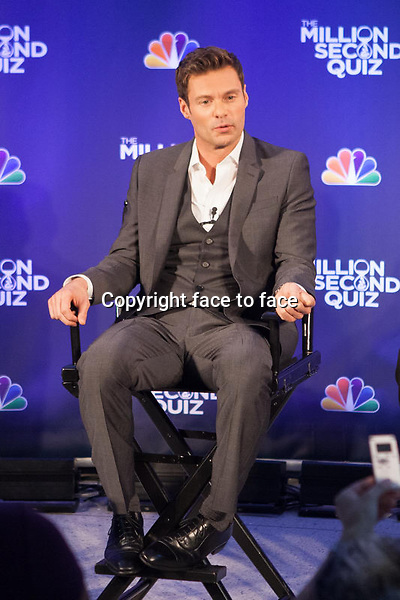 NEW YORK, NY - AUGUST 28: Ryan Seacrest attends 'The Million Second Quiz' Cocktail Reception on August 28, 2013 in New York City. <br /> Credit: MediaPunch/face to face<br /> - Germany, Austria, Switzerland, Eastern Europe, Australia, UK, USA, Taiwan, Singapore, China, Malaysia, Thailand, Sweden, Estonia, Latvia and Lithuania rights only -