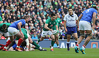 Sunday10th March 2019 | Ireland vs France<br /> <br /> Conor Murray during the Guinness 6 Nations clash between Ireland and France at the Aviva Stadium, Lansdowne Road, Dublin, Ireland. Photo by John Dickson / DICKSONDIGITAL