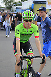 Andrew Talanksi (USA) Cannondale Drapac in the Tour Village in Mondorf-les-Bains before the start of Stage 4 of the 104th edition of the Tour de France 2017, running 207.5km from Mondorf-les-Bains, Luxembourg to Vittel, France. 4th July 2017.<br /> Picture: Eoin Clarke | Cyclefile<br /> <br /> <br /> All photos usage must carry mandatory copyright credit (&copy; Cyclefile | Eoin Clarke)