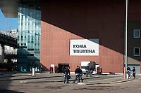 Roma 28 Novembre 2011.Inaugurata la nuova Stazione Tiburtina dell'alta velocità..L'esterno
