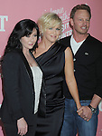 WEST HOLLYWOOD, CA - APRIL 19: Shannen Doherty, Jennie Garth and Ian Ziering arrive at her 40th Birthday celebration & premiere party for 'Jennie Garth: A Little Bit Country' held at The London Hotel on April 19, 2012 in West Hollywood, California.