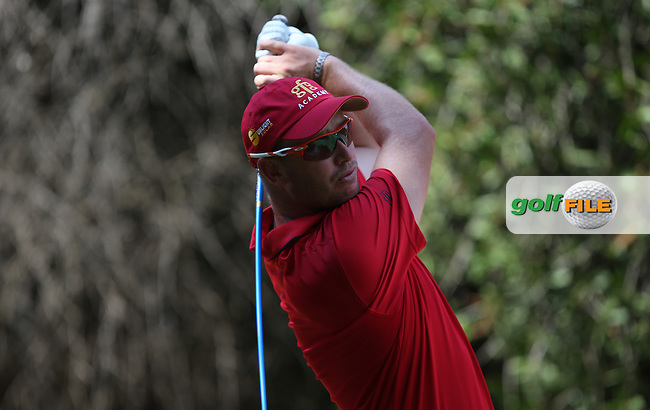 Ockie Strydom (RSA) drives from the 13th during Round Three of the Tshwane Open 2015 at the Pretoria Country Club, Waterkloof, Pretoria, South Africa. Picture:  David Lloyd / www.golffile.ie. 14/03/2015