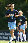 North Carolina's Tobin Heath on Sunday September 17th, 2006 at Koskinen Stadium on the campus of the Duke University in Durham, North Carolina. The University of North Carolina Tarheels defeated the University of Florida Gators 1-0 in an NCAA Division I Women's Soccer game.