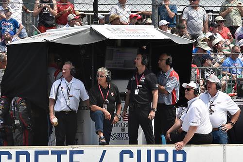 Marco Andretti, Herta - Andretti Autosport Honda, Mario Andretti, Bryan Herta