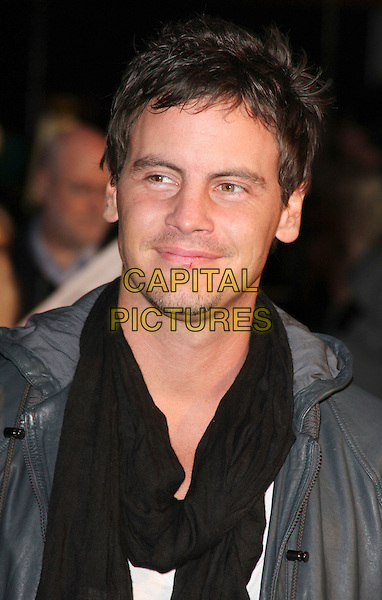 "DAN O'CONNOR.""Fast & Furious"" UK film premiere at VUE west End cinema, Leicester Square, London, England 19th March 2009..portrait headshot black scarf .CAP/ROS.©Steve Ross/Capital Pictures"