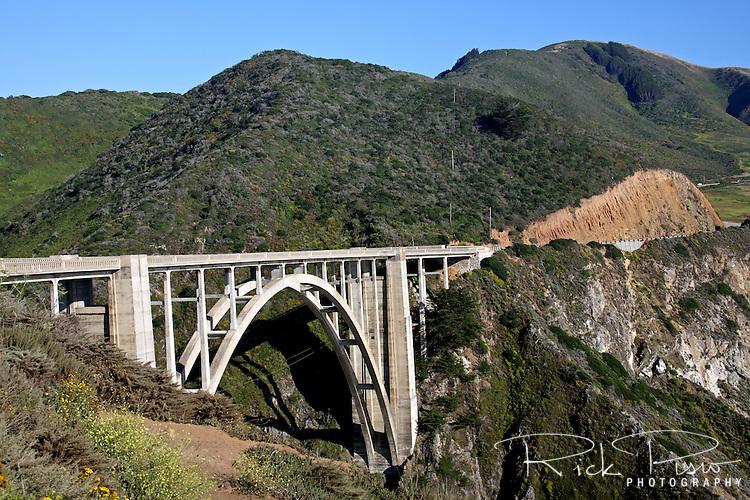 Bixby Creek Bridge on California's Big Sur Coast.