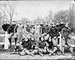 Frederick Stone negative. Taft football team, 1899.