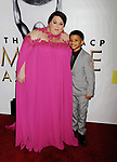 PASADENA, CA - FEBRUARY 11: Actress Chrissy Metz (L) and actor Lonnie Chavis arrive at the 48th NAACP Image Awards at Pasadena Civic Auditorium on February 11, 2017 in Pasadena, California.