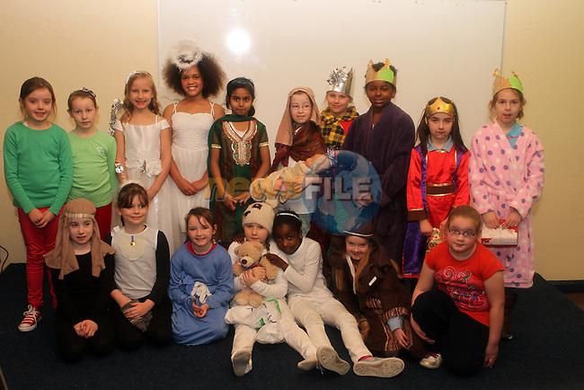 Miss Cuddens Class at the Nativity Play in Marymount NS...Photo NEWSFILE/Jenny Matthews..(Photo credit should read Jenny Matthews/NEWSFILE)