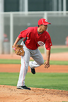 Daniel Ray Herrera. Cincinnati Reds spring training workouts at the Reds new complex, Goodyear, AZ - 02/19/2010.Photo by:  Bill Mitchell/Four Seam Images.