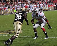 06 October 2007: Ohio State cornerback Andre Amos (13)..The Ohio State Buckeyes defeated the Purdue Boilermakers 23-7 on October 06, 2007 at Ross-Ade Stadium, West Lafayette, Indiana.