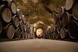 USA, California, Sonoma, Buena Vista Carneros winery, the oldest premium winery, a cave built in 1857