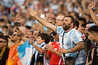 Action photo during the match Argentina vs Chile, Corresponding to Great Final of the America Centenary Cup 2016 at Metlife Stadium, East Rutherford, New Jersey.<br /> <br /> <br /> Foto de accion durante el partido Argentina vs Chile, correspondiente a la Gran Final de la Copa America Centenario 2016 en el  Metlife Stadium, East Rutherford, Nueva Jersey, en la foto: Fans<br /> <br /> <br /> 26/06/2016/MEXSPORT/Jorge Martinez.