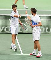 13-02-13, Tennis, Rotterdam, ABNAMROWTT, Robin Haase / Igor Sijsling