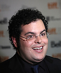 Josh Gad attending the The 2012 Toronto International Film Festival.Red Carpet Arrivals for 'Thanks For Sharing' at the Ryerson Theatre in Toronto on 9/8/2012