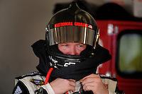 Jul. 3, 2008; Daytona Beach, FL, USA; NASCAR Sprint Cup Series driver Dale Earnhardt Jr during practice for the Coke Zero 400 at Daytona International Speedway. Mandatory Credit: Mark J. Rebilas-