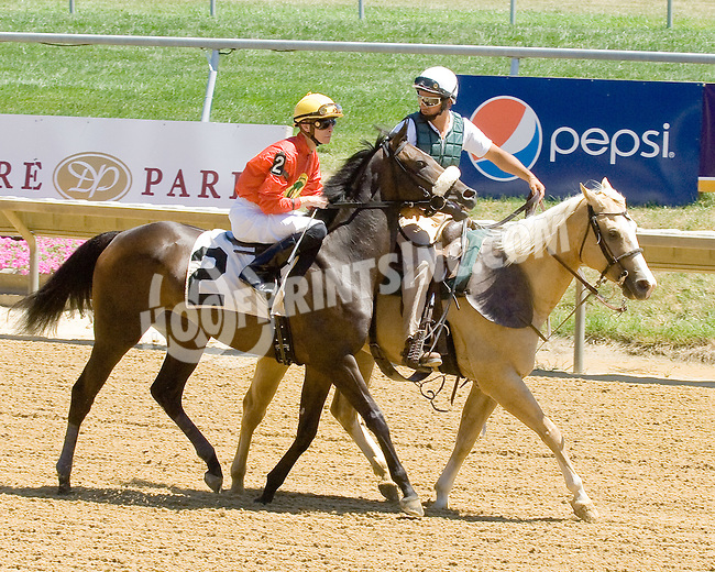 Dahteste at Delaware Park on 7/25/12