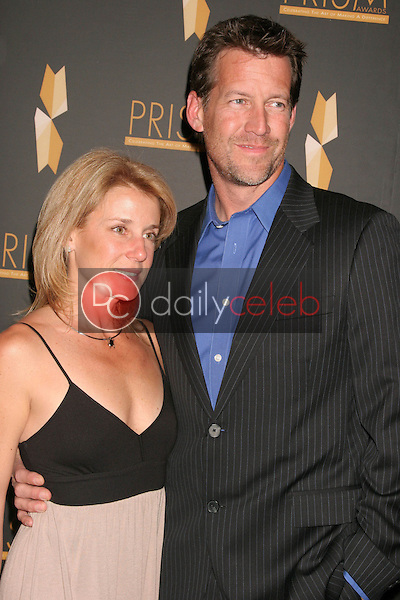 Erin O'Brien Denton and James Denton<br />