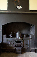 The great iron range in the original kitchen at Tullynally