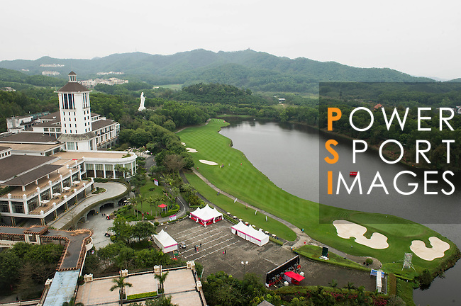 Olazabal Golf course before Round 2 of the World Ladies Championship 2016 on 12 March 2015 at Mission Hills Olazabal Golf Course in Dongguan, China. Photo by Lucas Schifres / Power Sport Images