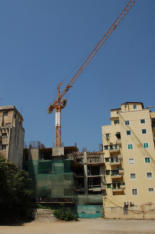 Part of the reconstruction of Beirut, this luxury apartment development located in the downtown district of Gemayzeh is known as Convivium and is being built by Brei.