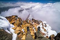 Illiniza Norte Volcano, Ecuador