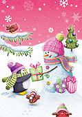 Sharon, CHRISTMAS SANTA, SNOWMAN, WEIHNACHTSMÄNNER, SCHNEEMÄNNER, PAPÁ NOEL, MUÑECOS DE NIEVE, GBSS, paintings+++++,GBSSC50XJ5,#X#