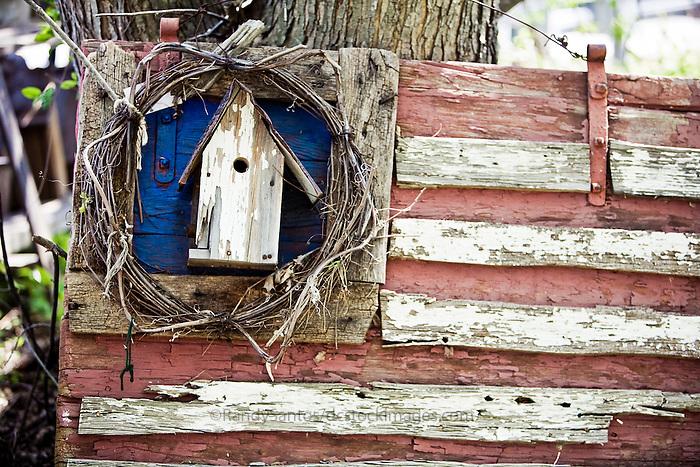 Americana  Birdhouses