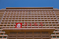 Daytime landscape view of the Beijing Hotel on East Chang'an Street in Dongcheng, Beijing  © LAN