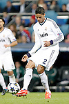 Real Madrid's Raphael Varane during the quarter final Champion League match. April 3, 2013.(ALTERPHOTOS/Alconada)