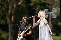 SAN FRANCISCO, CALIFORNIA - AUGUST 09: Aurora performs during the 2019 Outside Lands music festival at Golden Gate Park on August 09, 2019 in San Francisco, California.    <br /> CAP/MPI/ISAB<br /> ©ISAB/MPI/Capital Pictures
