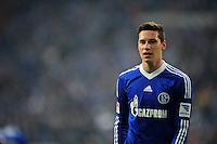 FUSSBALL   1. BUNDESLIGA   SAISON 2012/2013    27. SPIELTAG FC Schalke 04 - TSG 1899 Hoffenheim                       30.03.2013 Julian Draxler (FC Schalke 04)