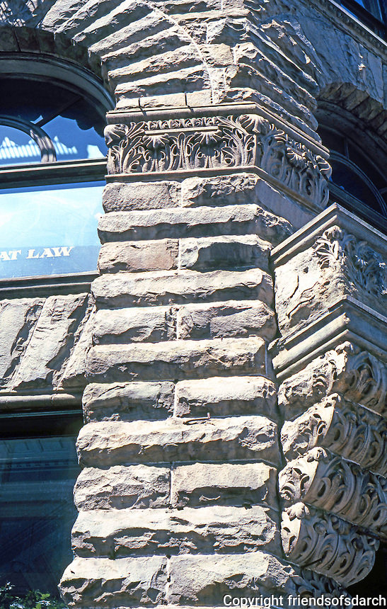 Seattle: Yesler Building--detail. Elmer Fisher.