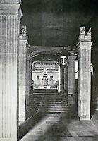 Bibliotheque Sainte-Genevieve, designed by Henri Labrouste.