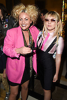 Jaime Winstone and sister Ellie Rae Winstone<br /> at the Pam Hogg catwalk show as part of London Fashion Week SS17, Freemason's Hall, Covent Garden, London<br /> <br /> <br /> ©Ash Knotek  D3155  16/09/2016